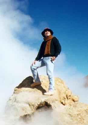 Me at the 'El Tatio' geisers in northern Chile